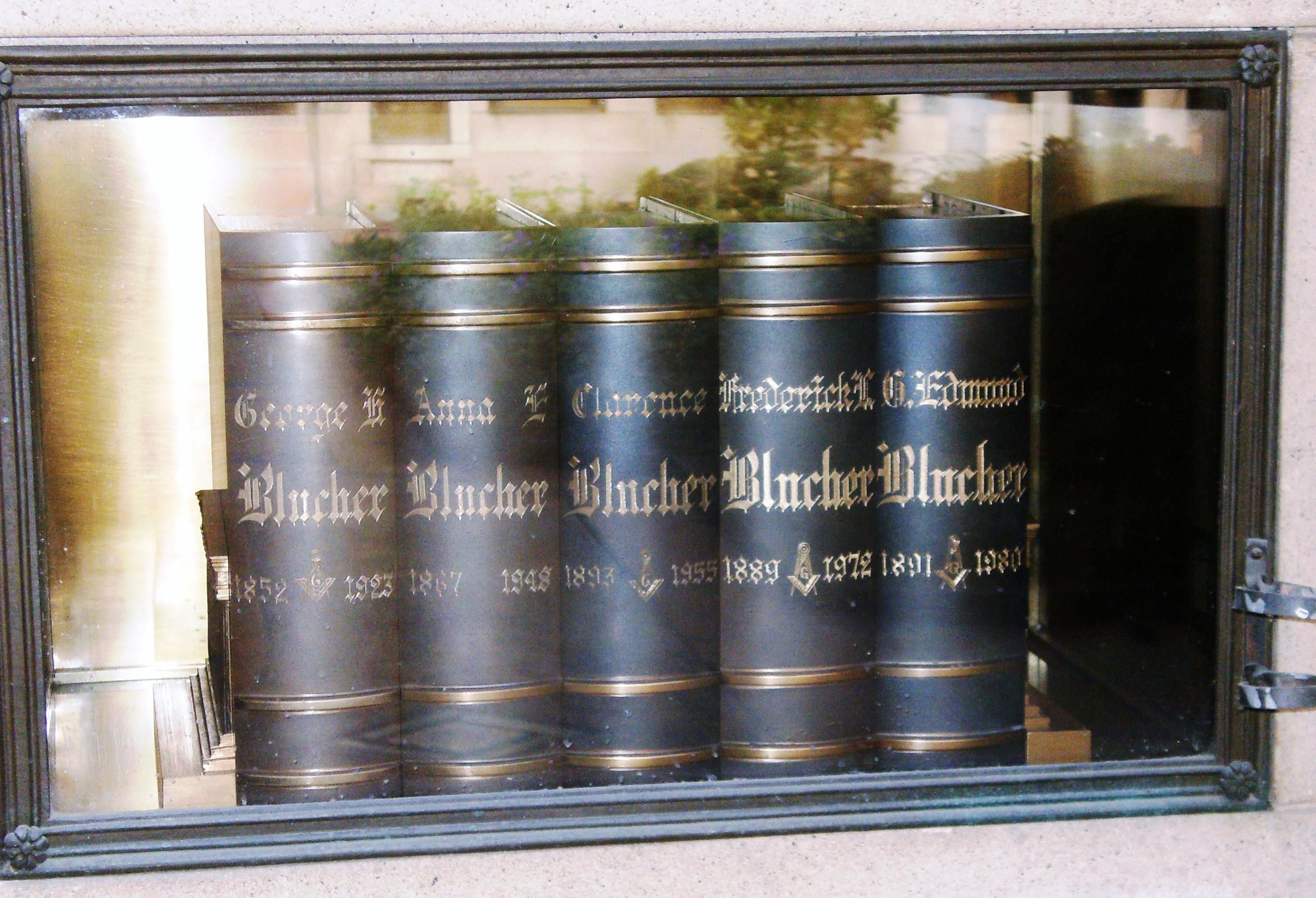 Clarence A Blucher