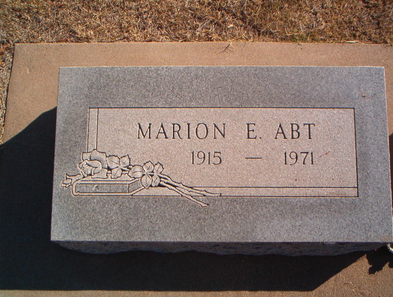 Marion E. Abt
