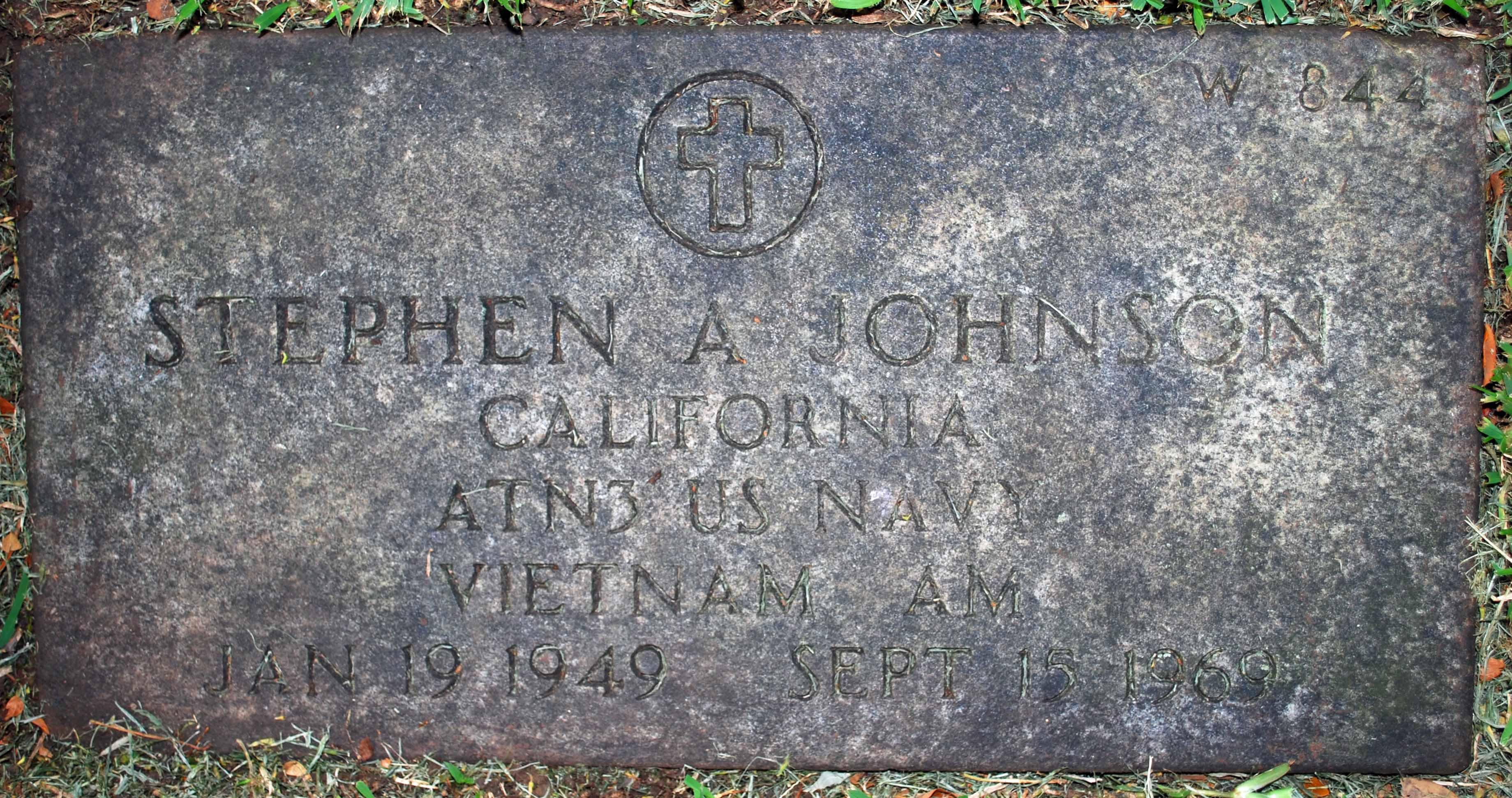PO Stephen Ayer Johnson