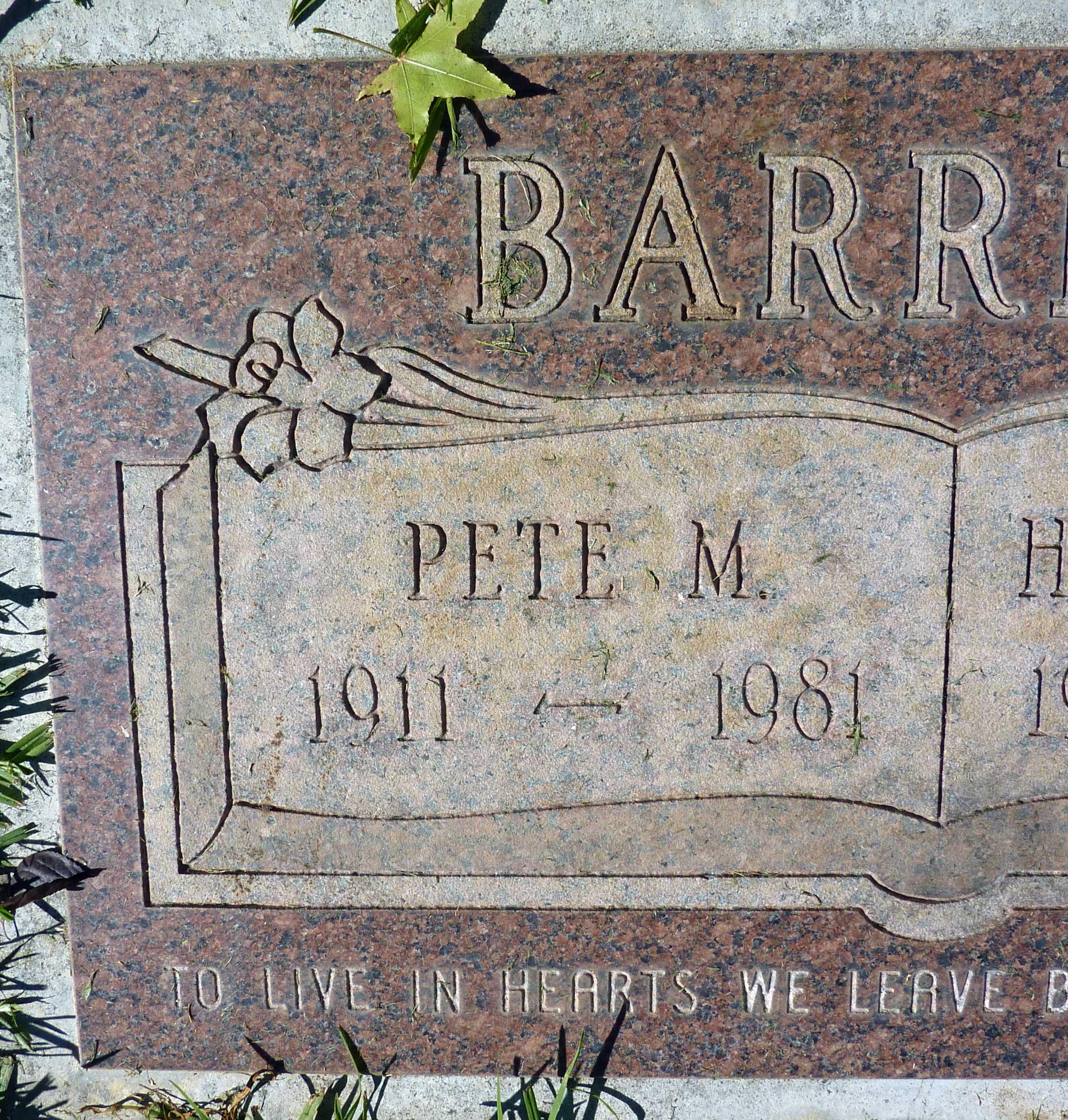 Pete Barrera