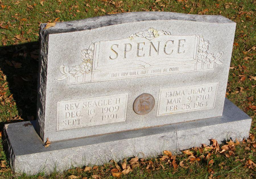 Rev Seagle Howard Spence