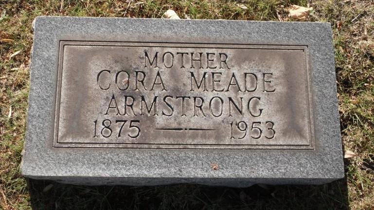 Cora <i>Meade</i> Armstrong