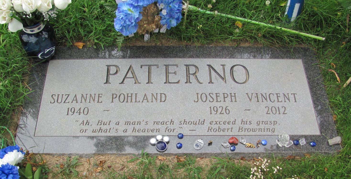 Joe JoePa Paterno
