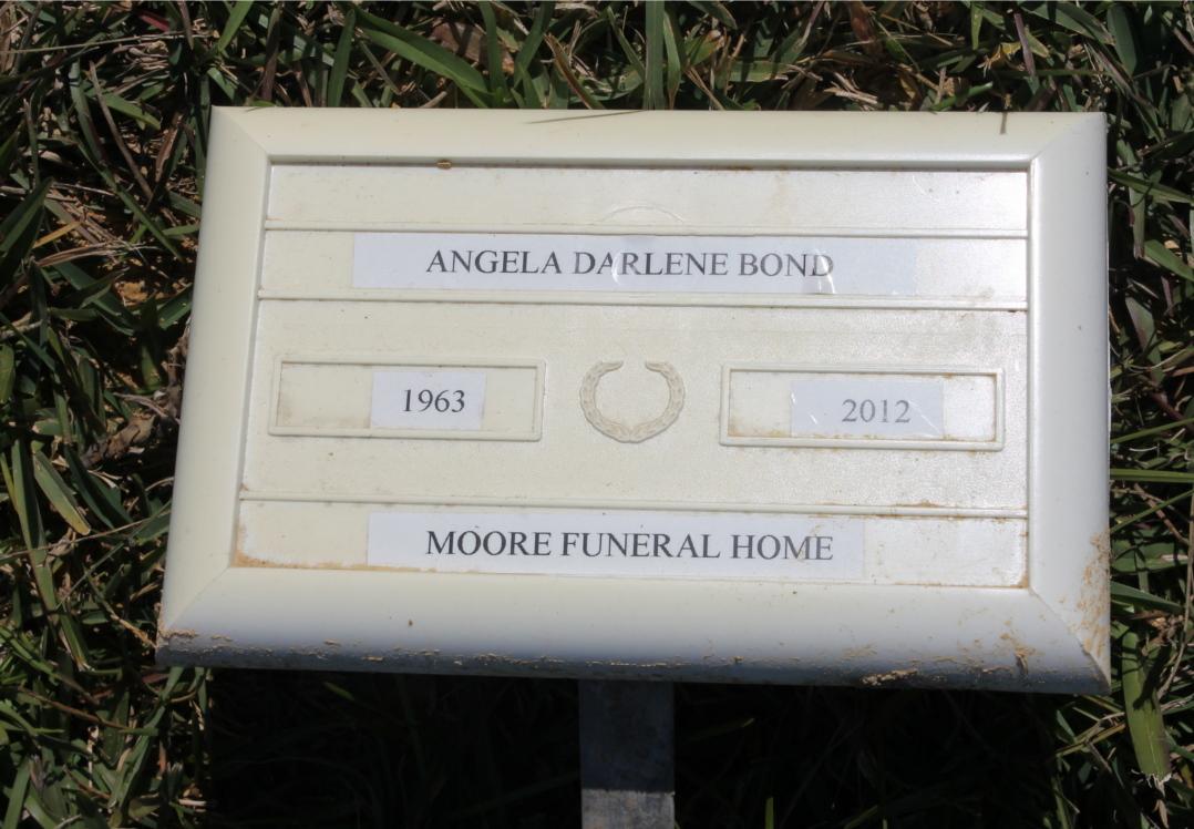 Angela <i>Morgan</i> Bond
