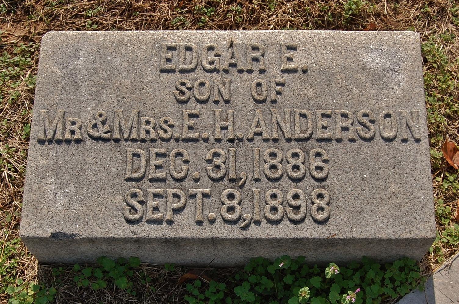 Edgar E. Anderson