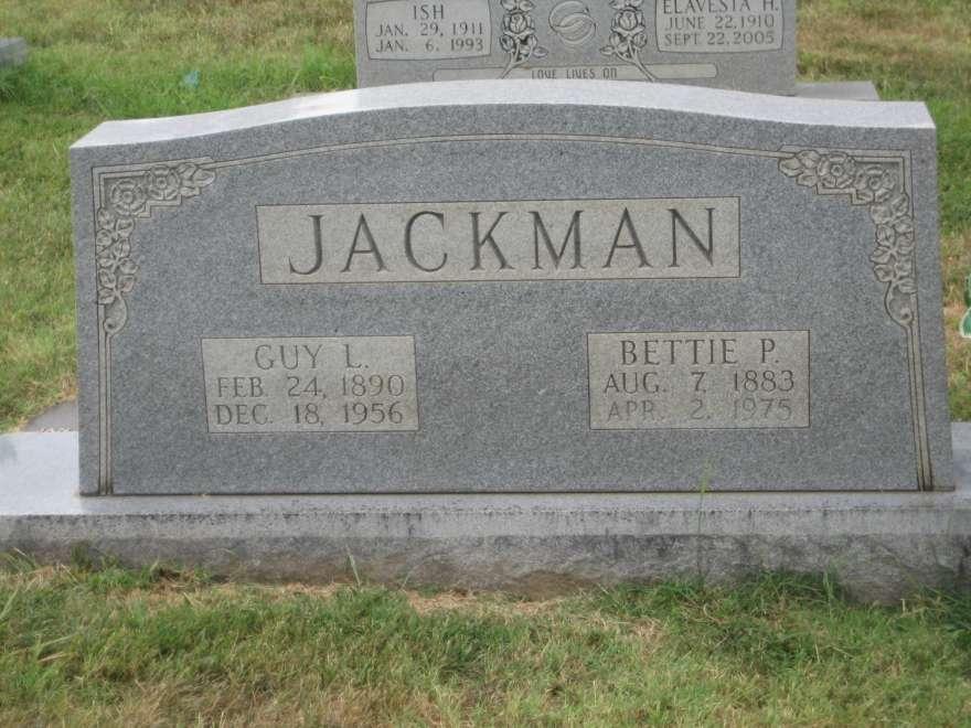 Bettie Bett <i>Price</i> Jackman