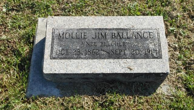 Mollie Jim <i>Belcher</i> Ballance