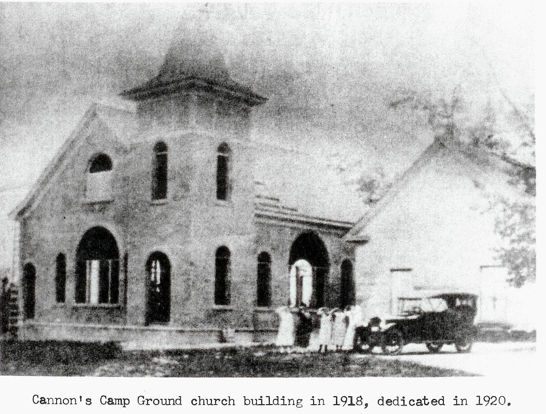 Cannons Camp Ground UM Church Cemetery