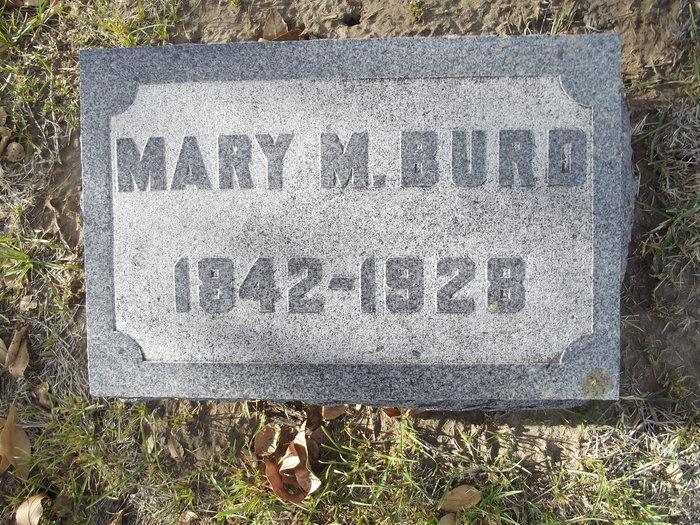 Mary Malinda <i>Green</i> Burd