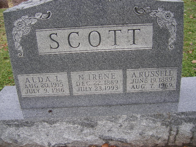 Nellie Irene <i>Reynolds</i> Scott