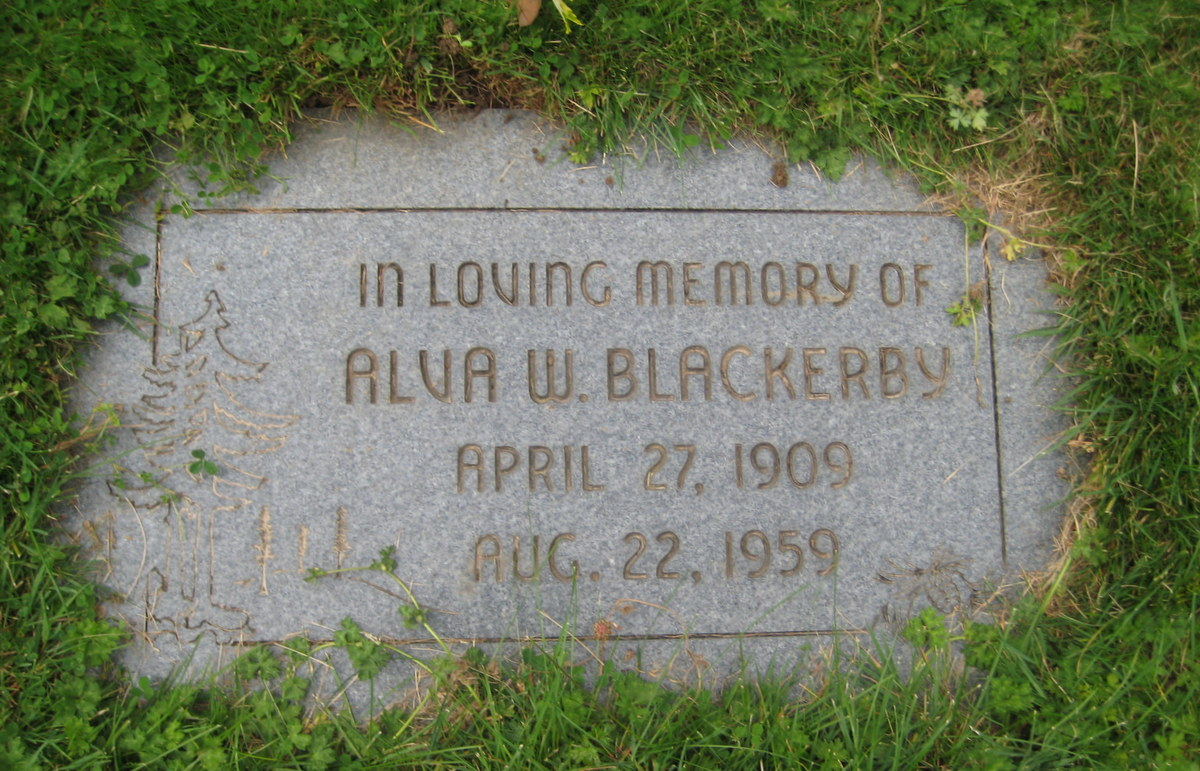 Alva W Blackerby