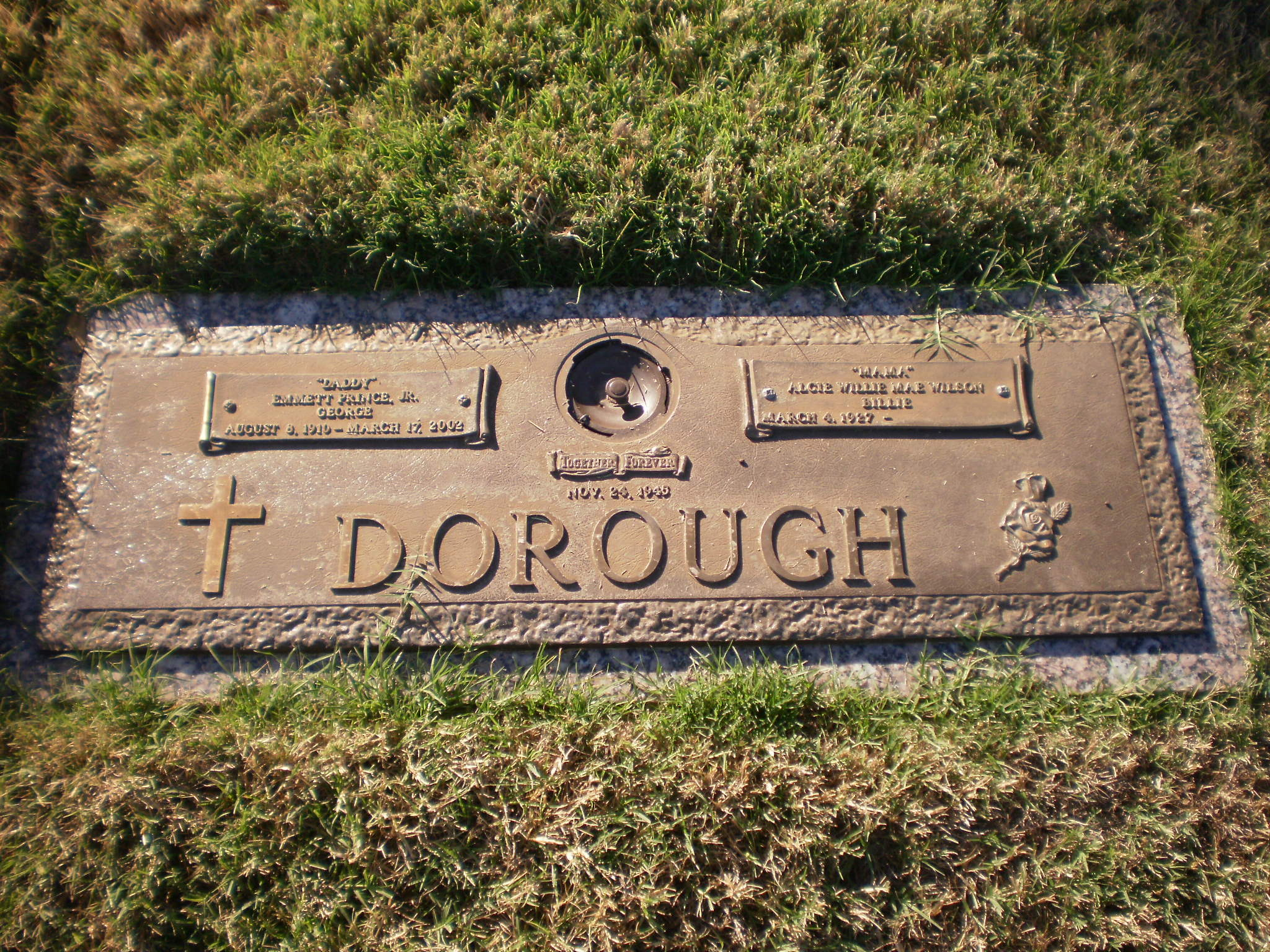 "Emmett Prince ""George"" Dorough, Jr (1910-2002) - Find A Grave Memorial"