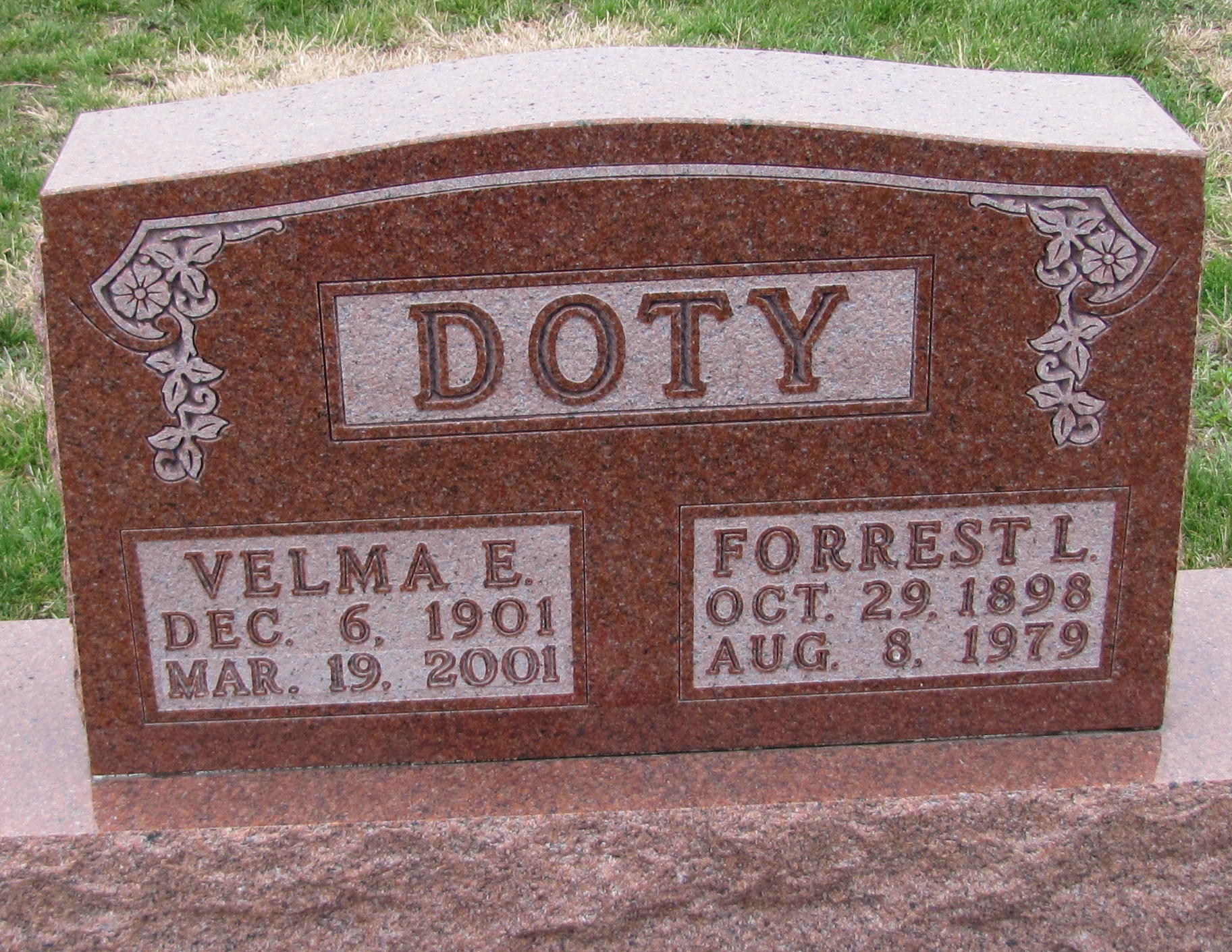 Velma <i>McKinney</i> Doty