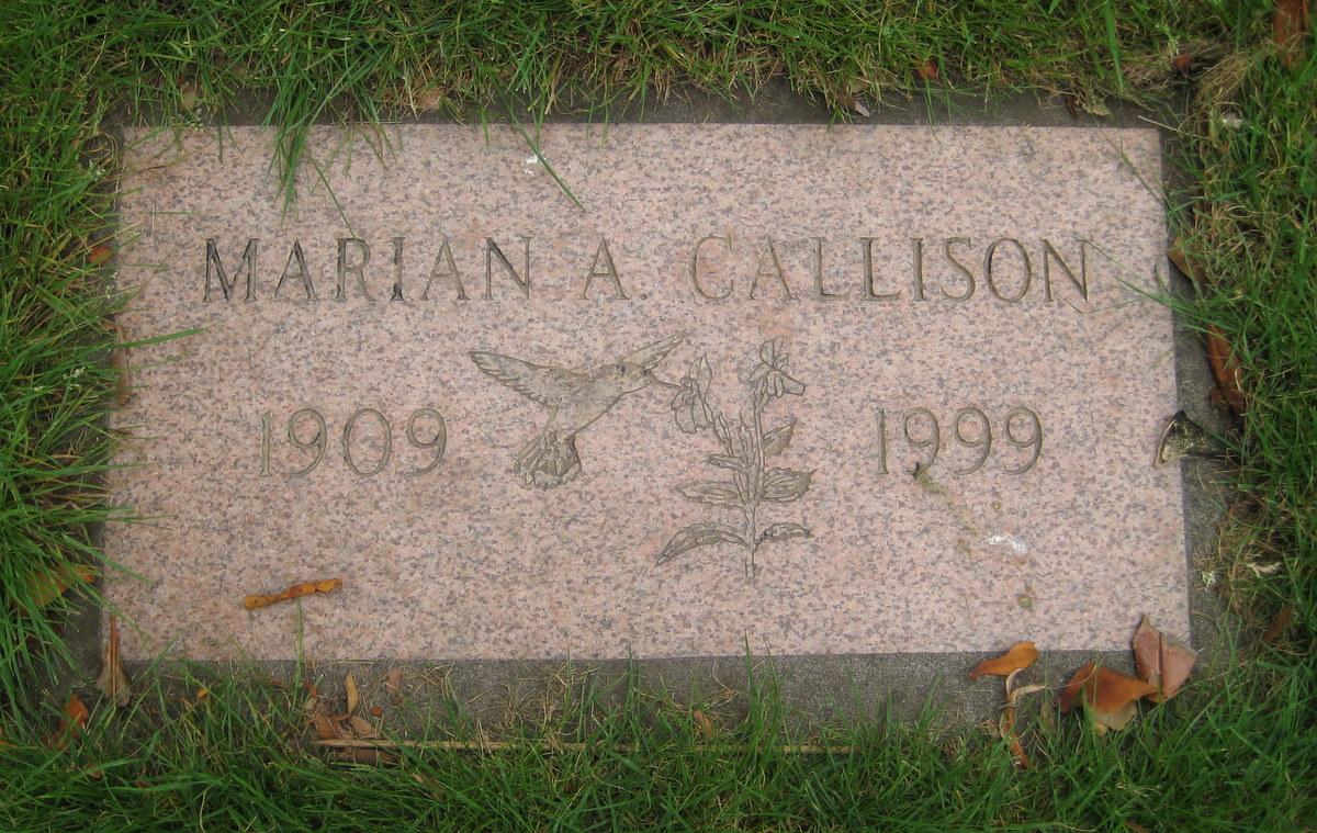 Marian Alice <i>Tufts</i> Callison