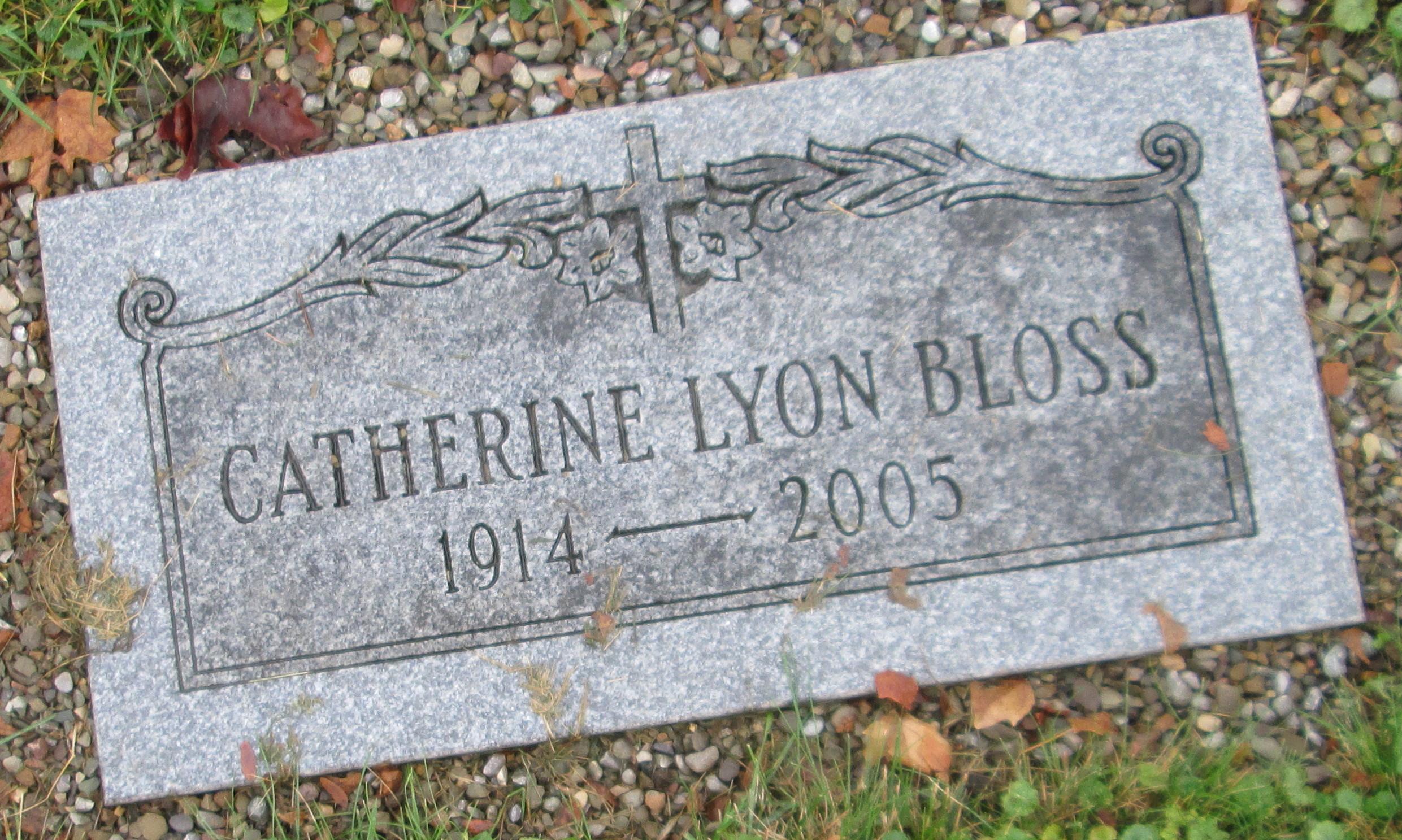 Catherine <i>Lyon</i> Bloss
