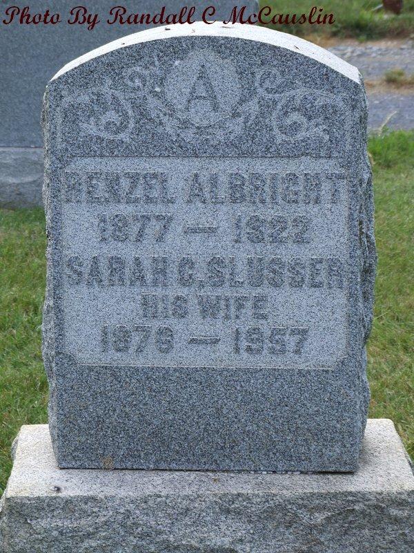 Sarah Cora <i>Slusser</i> Albright