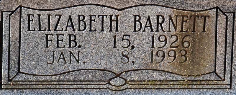 Oma Elizabeth <i>Barnett</i> Barlow