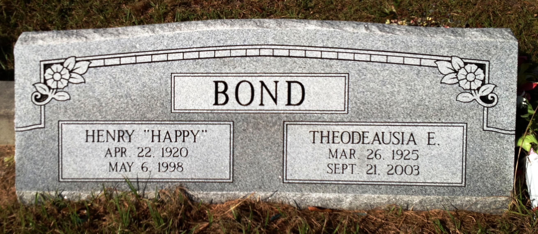 Theodeausia <i>Holliman</i> Bond