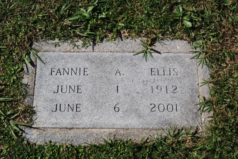 Fannie Elizabeth <i>Atkinson</i> Ellis