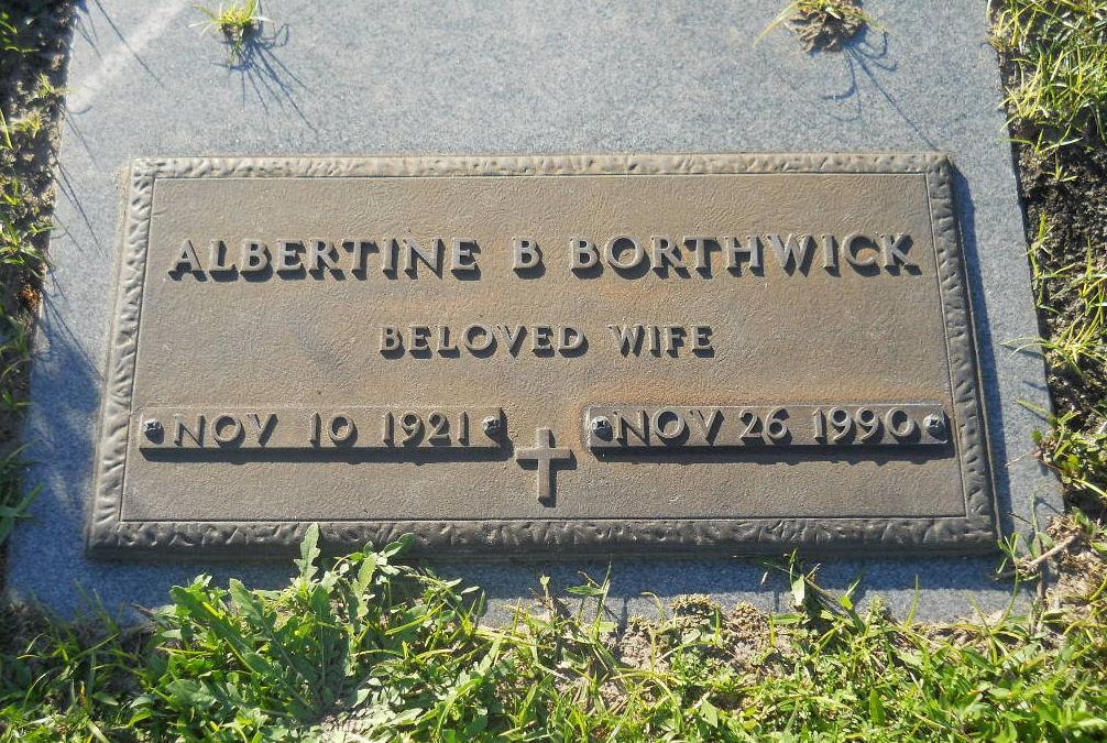Albertine B. Borthwick
