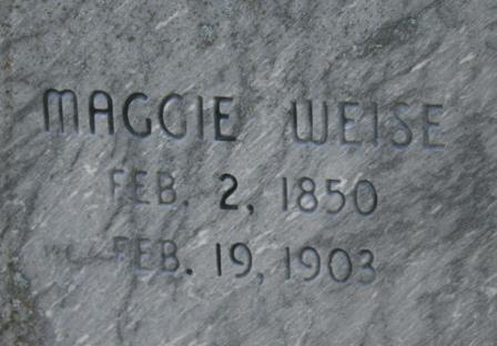 Margaret Maggie <i>Kinnick</i> Weise