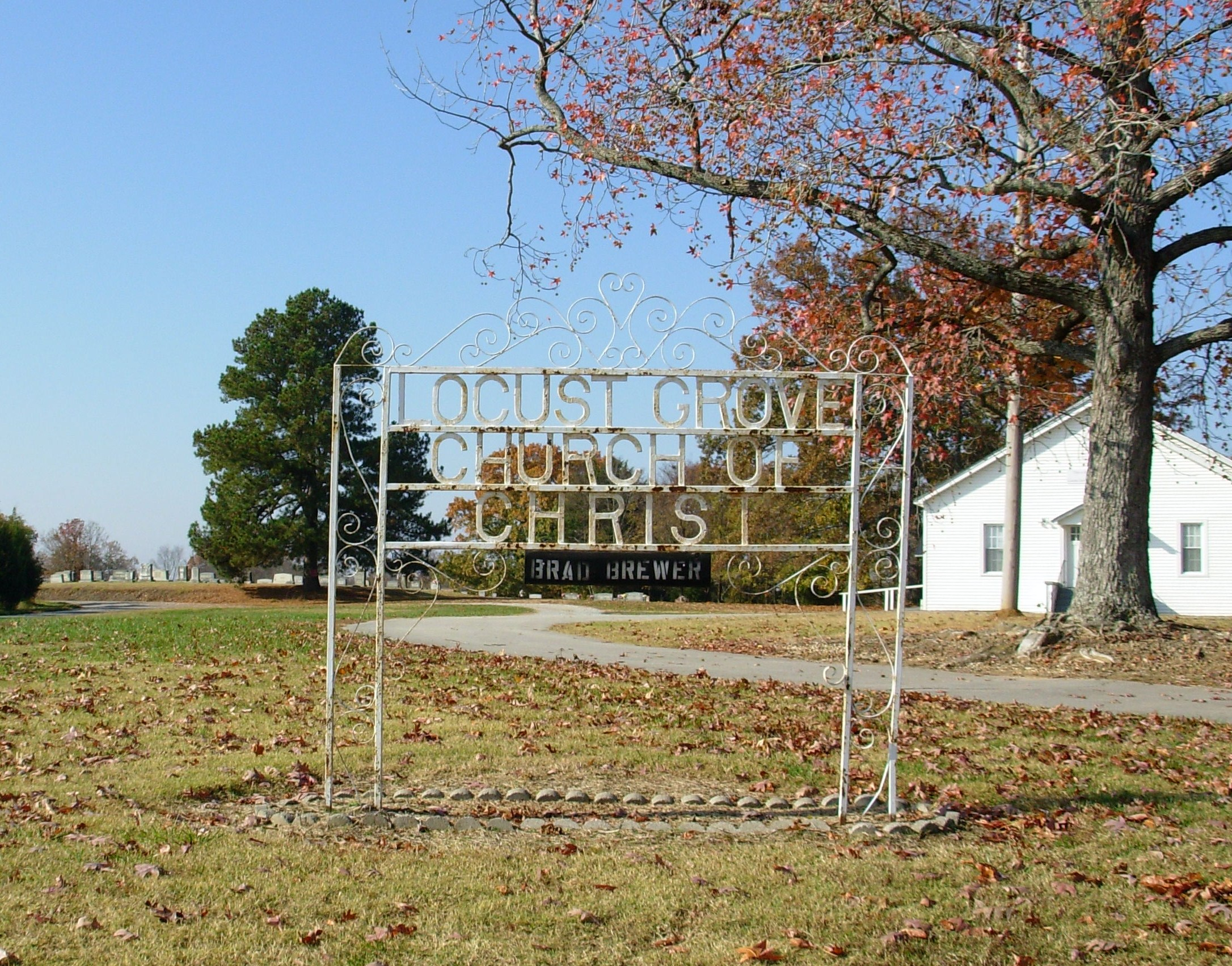 Locust Grove Church of Christ Cemetery