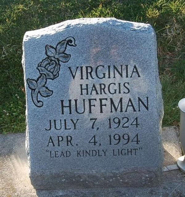 Virginia <i>Hargis</i> Huffman