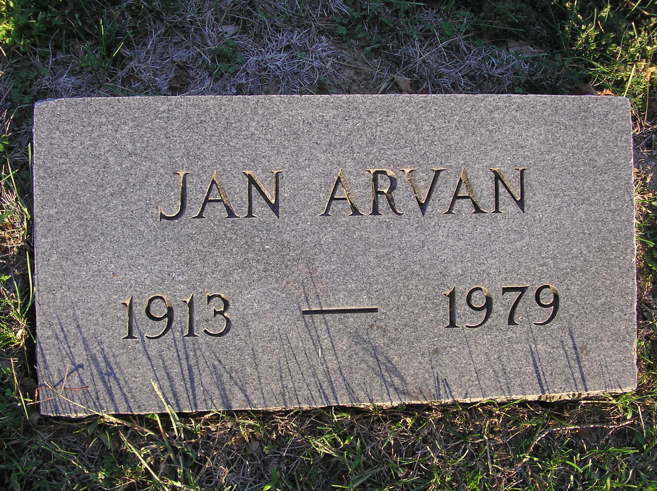 Jan Arvan