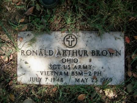 Sgt Ronald Arthur Brown