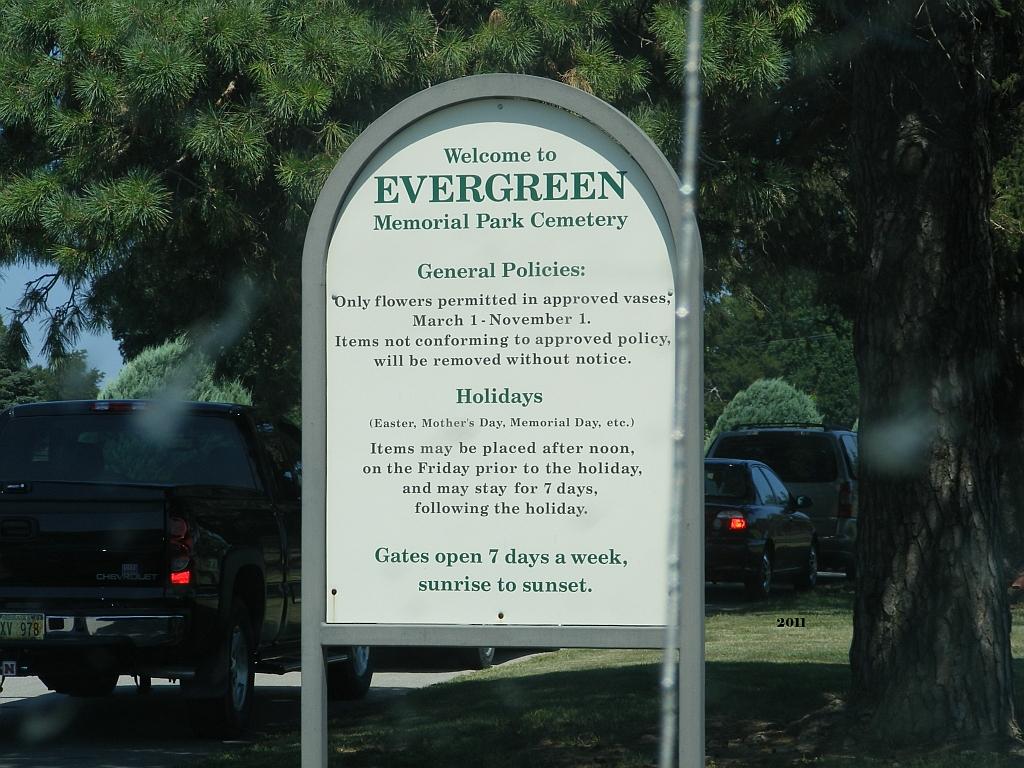 Evergreen Memorial Park Cemetery