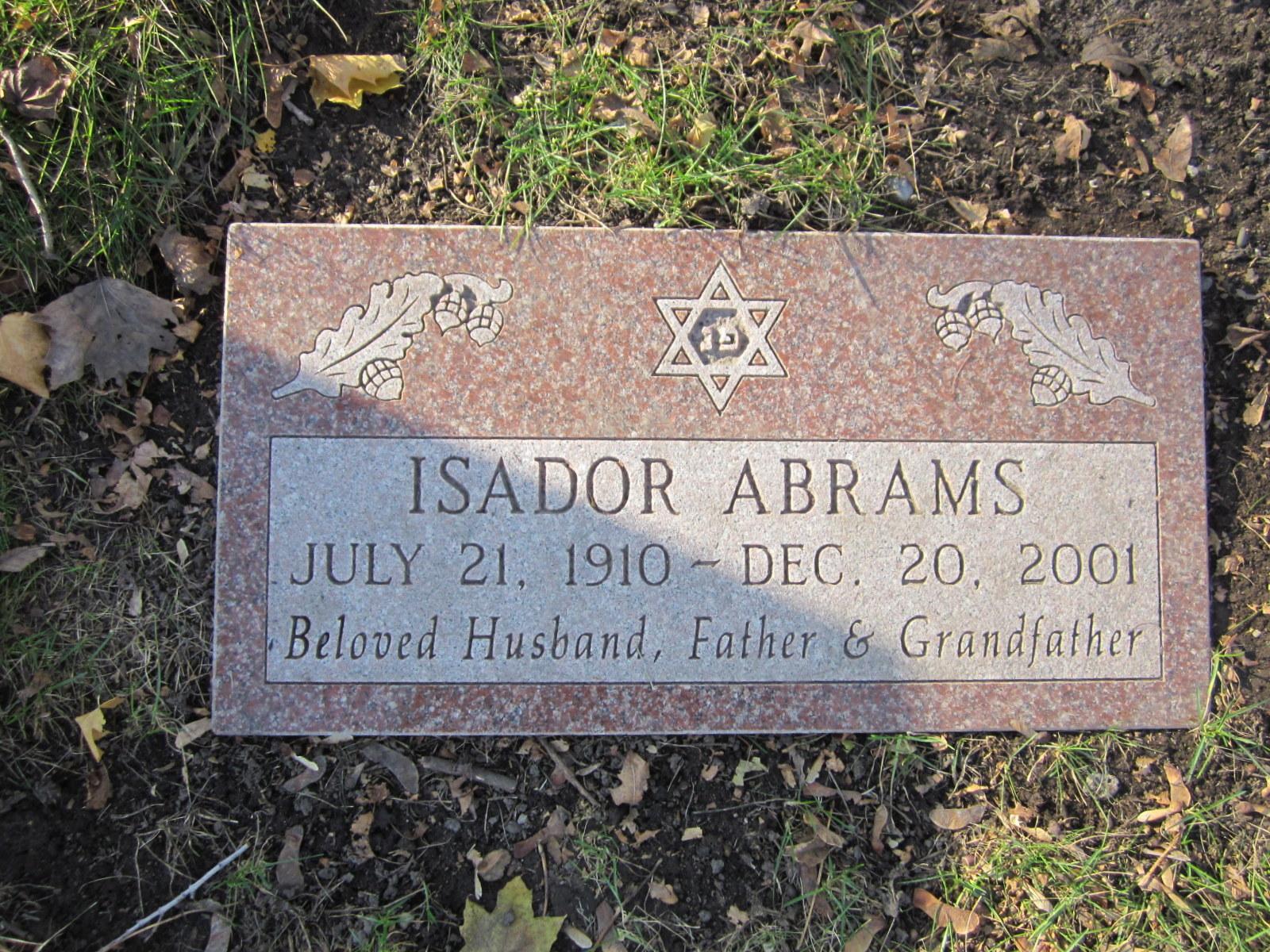 Isador Abrams