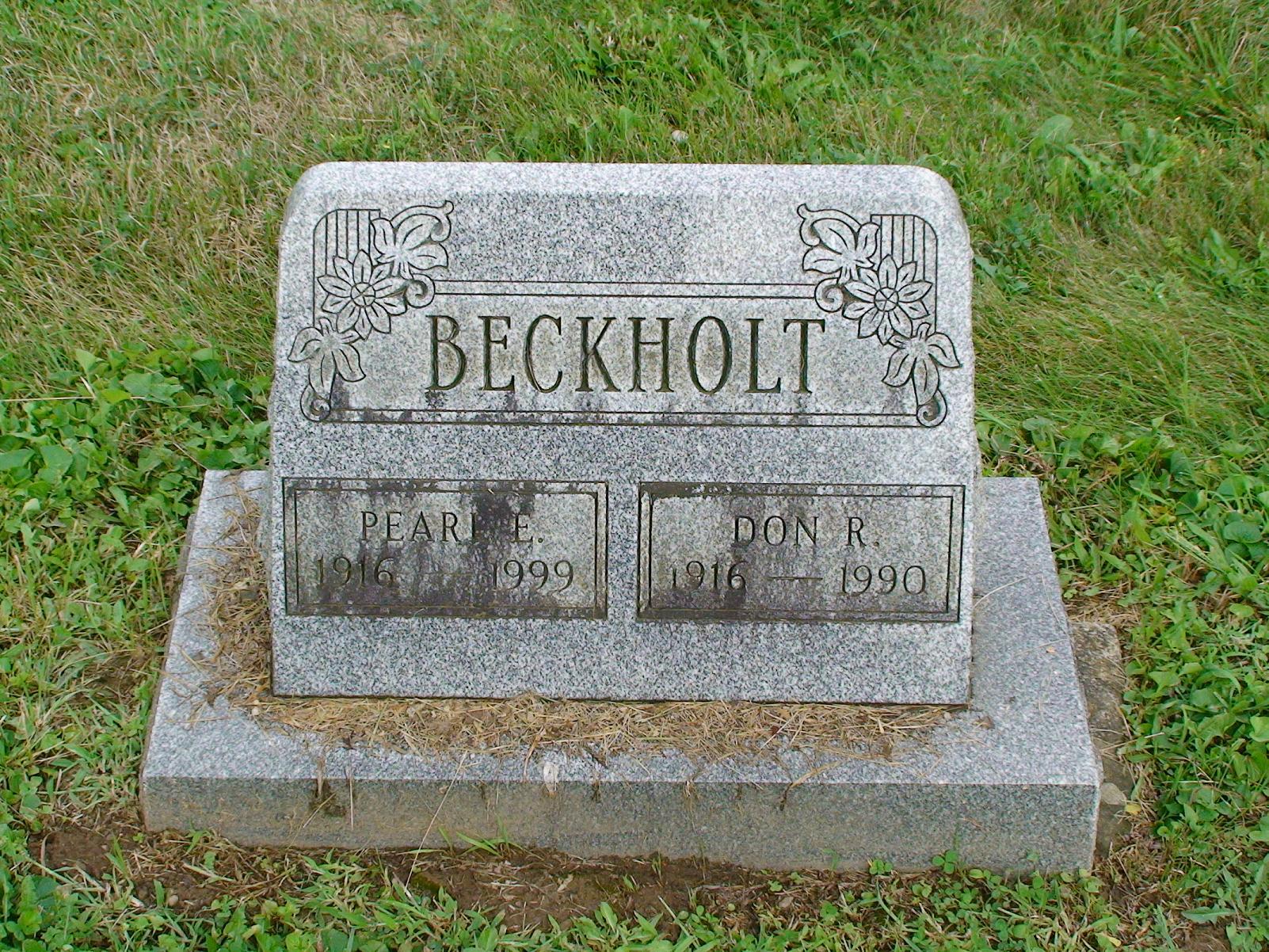 Pearl Easter <i>Cline</i> Beckholt