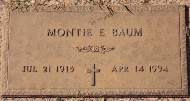 Montie Elaine Baum