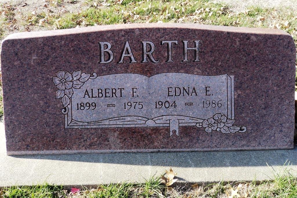 Edna Evelyn <i>Beattie</i> Barth