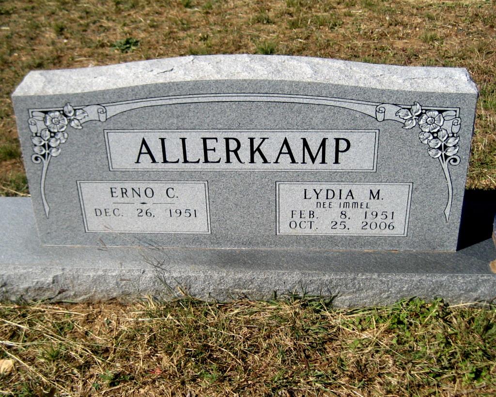 Lydia Mary <i>Immel</i> Allerkamp