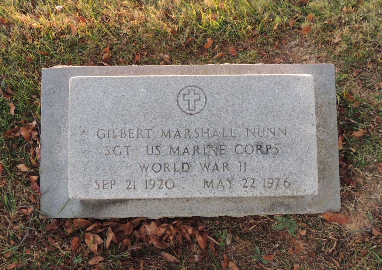 Gilbert Marshall Nunn, Sr
