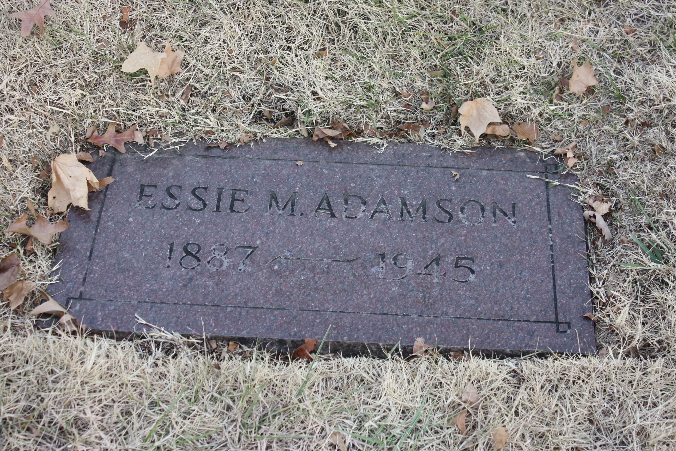 Essie M <i>Foster</i> Adamson