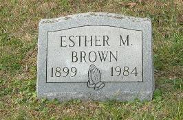 Esther Mary Brown