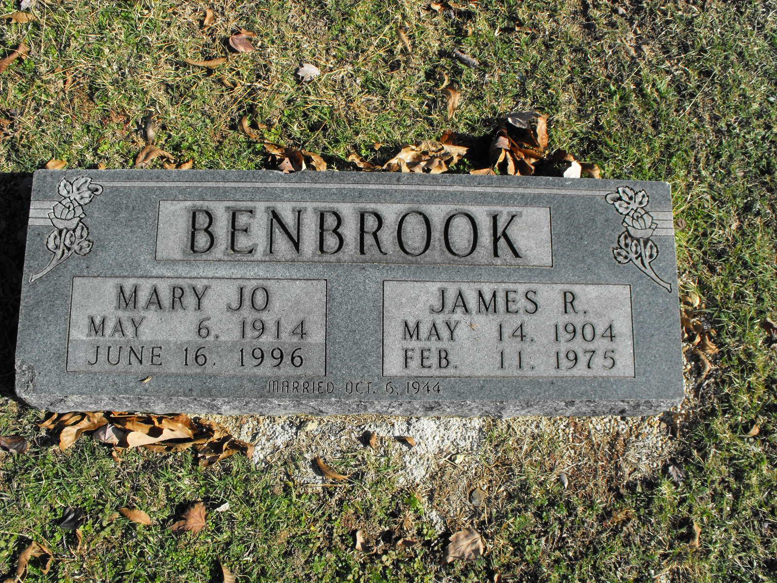 James R Benbrook