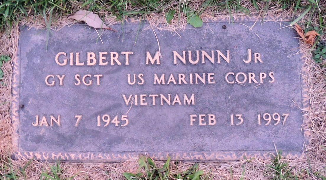 Gilbert Marshall Nunn, Jr