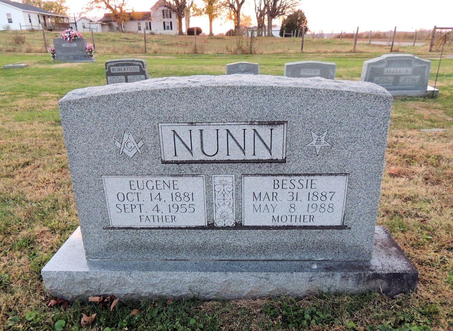 Bessie Mae <i>Harlow</i> Nunn