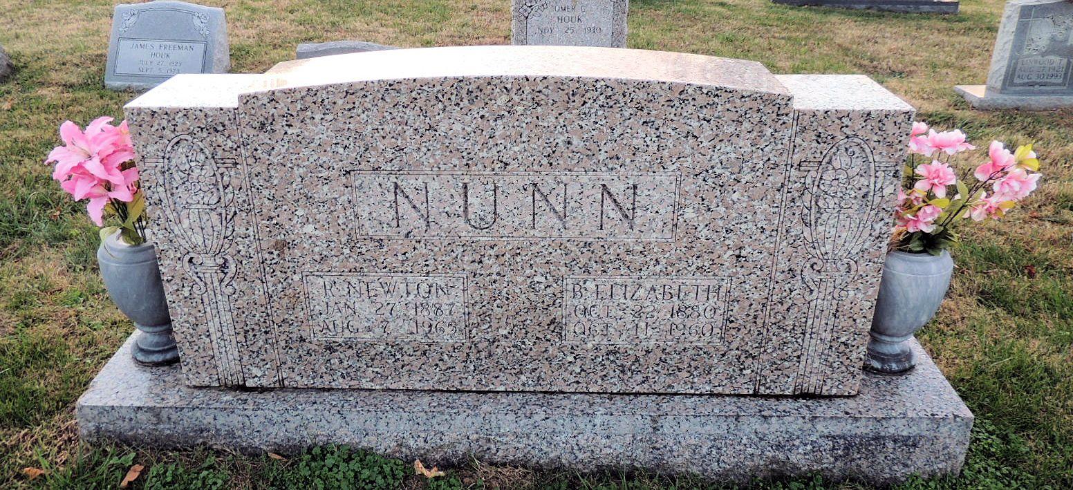 Beurilla Elizabeth <i>Huff</i> Nunn