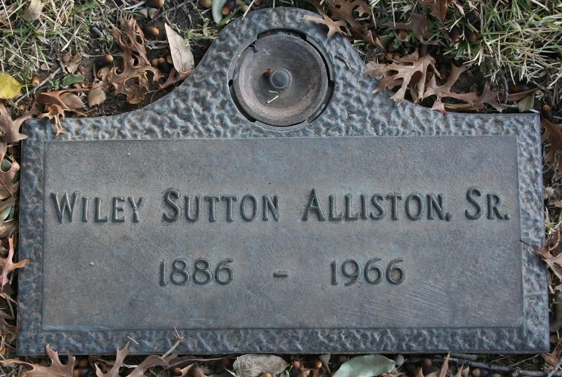 Wiley Sutton Alliston, Sr