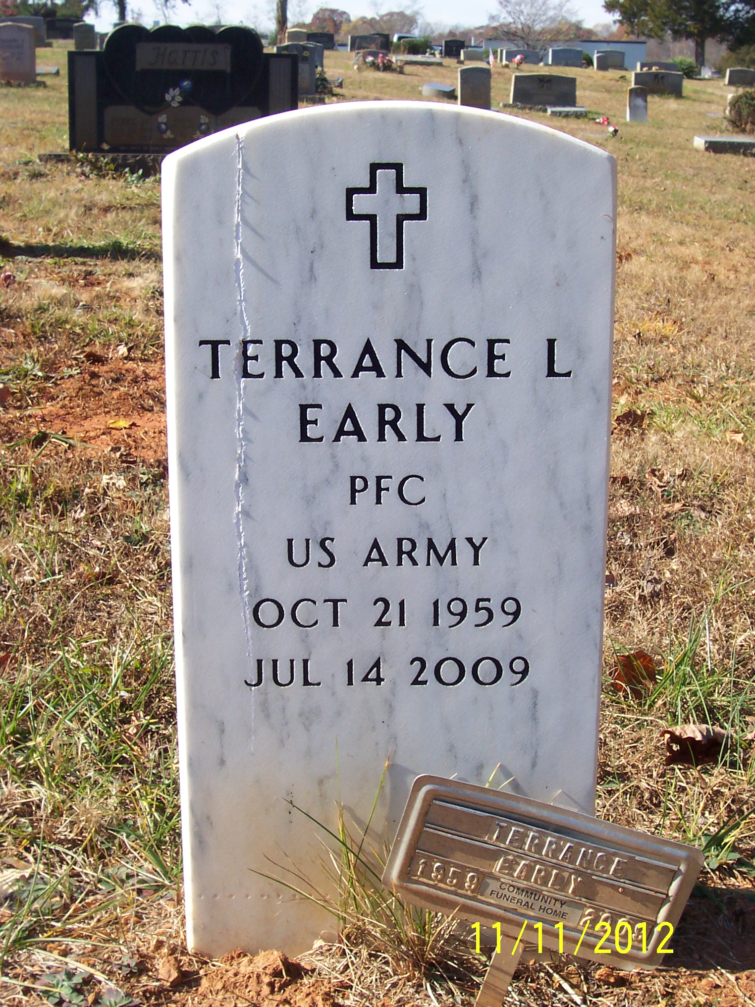 PFC Terrance L Early