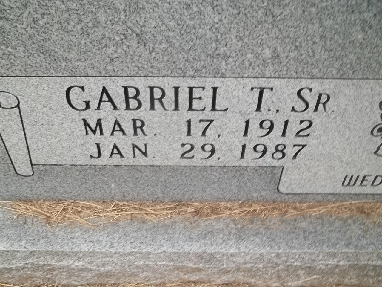 Gabriel T Abad, Sr