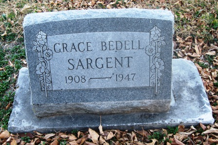 Grace Rebecca <i>Bedell</i> Sargent
