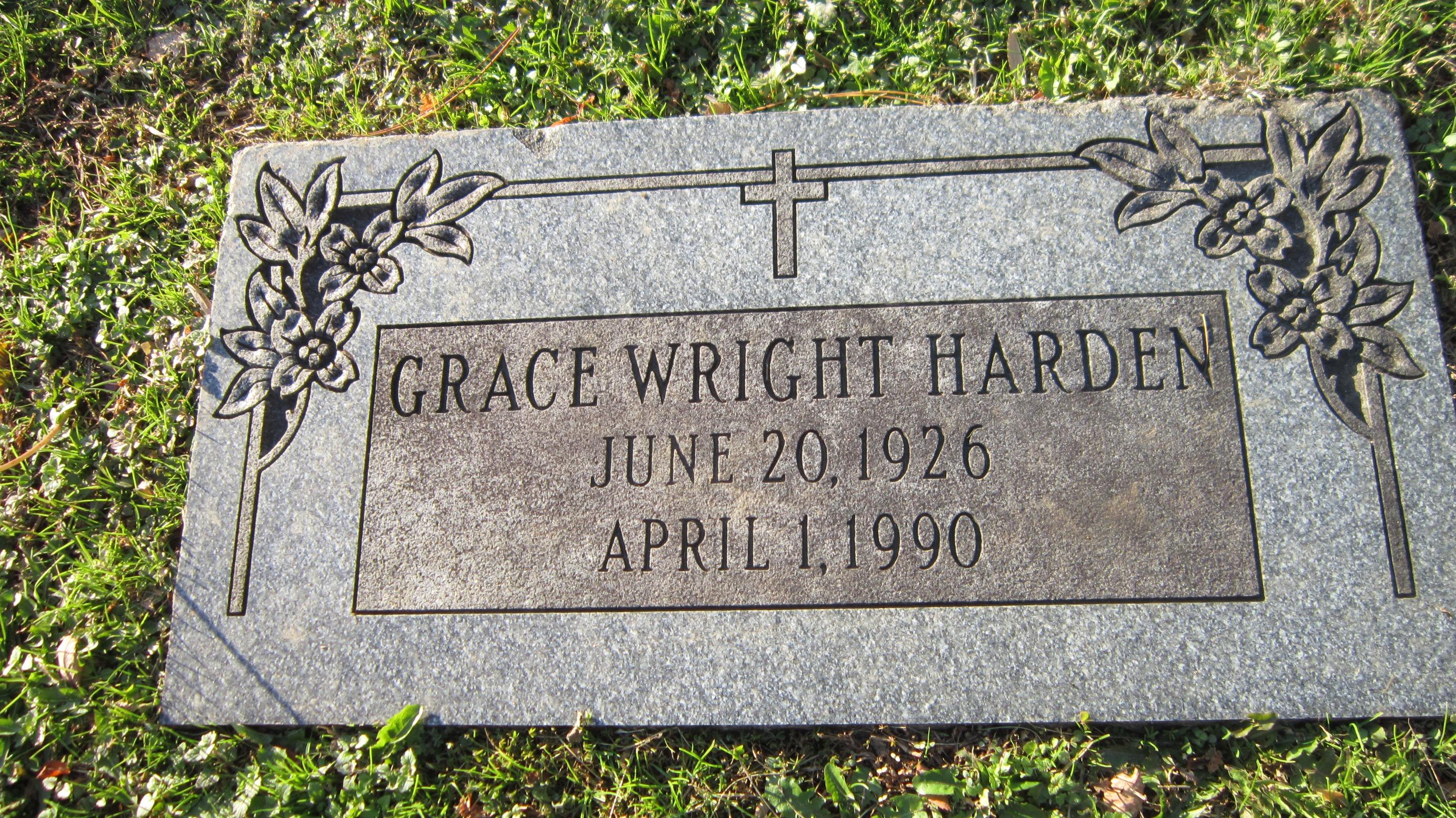 Grace <i>Wright</i> Harden