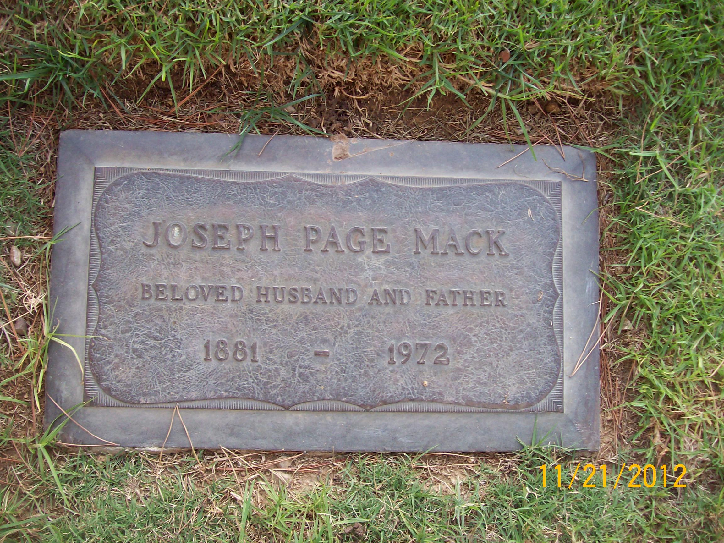 Joseph Page Mack