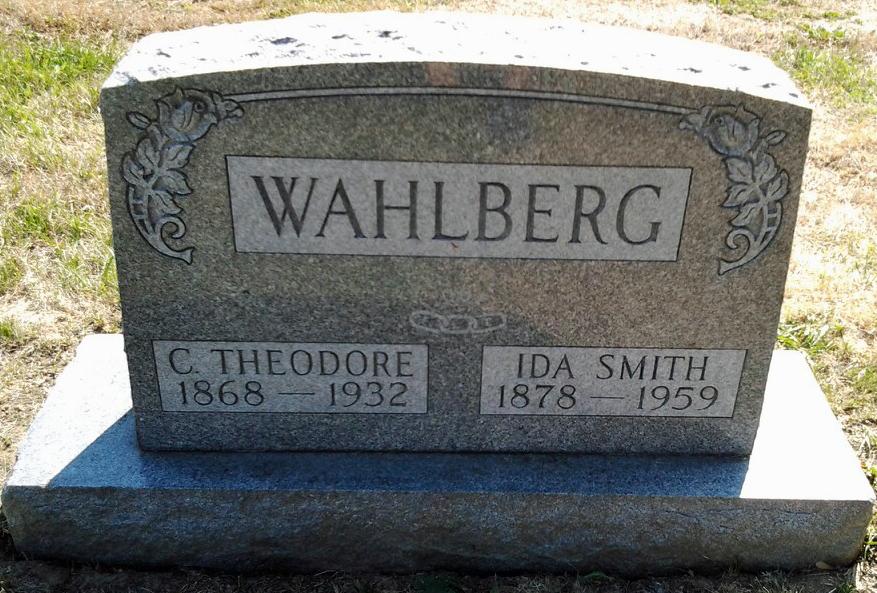 Ida <i>Smith</i> Wahlberg