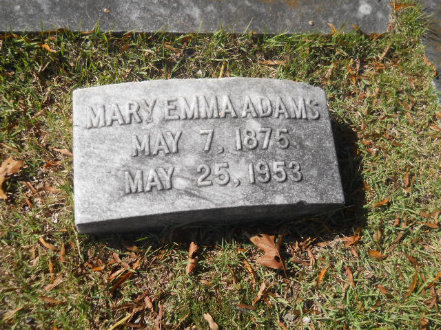 Mary Emma Adams